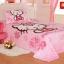 [Preorder] ผ้าปูที่นอนเตียงเดี่ยว (ไซส์ 3.3 ฟุต, 4 ฟุต หรือ 4.5 ฟุต) ลาย Hello Kitty สีชมพู Cartoon coral velvet three-piece children's bed dormitory bed linen products thumbnail 2