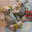 ตุ๊กตาหมีผ้าคอตตอนลินินขนาด 15 cm. - Niza thumbnail 5