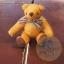 ตุ๊กตาหมีผ้าขนสีน้ำตาลทองขนาด 10 cm. - Muffin thumbnail 3