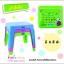 สีฟ้า นัInter Steel ชุดโต๊ะและเก้าอี้ เตรียมอนุบาล โต๊ะ ก-ฮ 1 ตัว + เก้าอี้ 2 ตัว ชุดโต๊ะเขียนหนังสือ/ทำกิจกรรมเด็ก ผลิตจากพลาสติกเนื้อดี แข็งแรง สามารถประกอบได้ง่าย ■ เหมาะกับการวางไว้ตามมุมต่างๆ ทั้งในบ้านและนอกบ้าน thumbnail 7