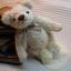 ตุ๊กตาหมีผ้าขนสีครีม ขนาด 14 cm. - Herbie thumbnail 3