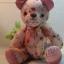 ตุ๊กตาหมีผ้าฝ้ายลายดอกไม้ขนาด 20 cm. - Kate thumbnail 4