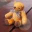 ตุ๊กตาหมีผ้าขนสีน้ำตาลทองขนาด 10 cm. - Muffin thumbnail 4