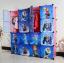 ตู้ DIY ลายการ์ตูน Frozen ข้างตู้มีสีชมพู//ฟ้า//แดง/ขาวใสลายเส้น ขนาดช่องละ 37x37 ซม. รับน้ำหนักได้ช่องละประมาณ 10-15 กิโลกรัม (ขนาด 12 และ 16 แถมชั้นวางรองเท้า) thumbnail 3