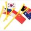 แผนที่โลก พร้อมธง 36 ประเทศ (Map of the World) thumbnail 11