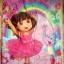 พร้อมส่งค่ะ Dora the explorer ผ้าห่ม quilted blanket สำหรับเตียงเดี่ยว thumbnail 2