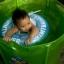 Size M สุดฮิต สีฟ้า- ห่วงยางพยุงหลัง Safty Baby Swim Trainer Float ล็อค 2 ชั้นโอบรอบตัว ปลอดภัย (6 เดือน -2 ขวบ ( -วิธีใช้ดูในคลิปวีดีโอค่ะ) (สายพาดบ่าไม่จำเป็นต้องเป่านะคะ ตัวปีกสีขาวโตแล้วไม่ต้องเป่า) thumbnail 13