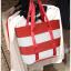 พร้อมส่งค่ะ Lacoste leisure tote bag ใบใหญ่ สีสันสดใส thumbnail 7