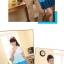 พร้อมส่ง ชุดคู่น่ารักๆ ผู้หญิง-เดรสสีฟ้าขาว / ผู้ชาย-เสื้อทีเชิ๊ตคอกลม thumbnail 8