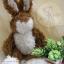 กระต่ายหูตั้งสีน้ำตาล ขนาด 26 ซม. thumbnail 1