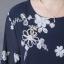 แม็กซี่เดรส ผ้าชีฟองปักดอกไม้ thumbnail 4