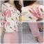 ชุดเซท เสื้อ+กางเกง เสื้อแบบคอปกผ้าชีฟอง thumbnail 4