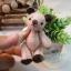 ตุ๊กตาหมีผ้าสักกะหลาดขนาด 7.5 cm. - BeanBear Cutwork thumbnail 4