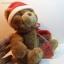 หมีนั่งสีน้ำตาล ขนาด 21 ซม. thumbnail 4