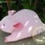 ตุ๊กตาหมูผ้าขนหนูสีชมพู ขนาด 33 cm. - Piggato thumbnail 1