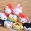 พร้อมส่งค่ะ Sanrio Tsum Tsum plush keychain รุ่นเช็ดจอมือถือได้ thumbnail 3