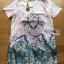 Dress เชิ้ตเดรสปกสั้นพิมพ์ลายสไตล์จีน thumbnail 7