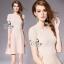 Mini Dress ลุคเรียบหรูมีความ Sexy นิสๆด้วยดีเทลช่วงเอวมีเชือกสานต่อ thumbnail 3