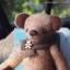 ตุ๊กตาหมีผ้าวูลสีน้ำตาลขนาด 21 cm. - Holly thumbnail 3