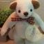 ตุ๊กตาหมีผ้าขน white ขนาด 14 cm. - Herbie thumbnail 4