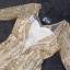 เดรสยาวออกงานสีทอง คอวีแขนเลยศอก thumbnail 8