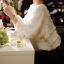 เสื้อผ้าแฟชั่นเกาหลีผ้าย่นๆจับเป็นเลเยอร์สีขาวแขนยาวพองๆ ด้านหลังผูกโบว์ ผ้านุ่มใส่สบายนะค่ะ thumbnail 2