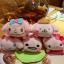 พร้อมส่ง So cute 2015 Sanrio Mame Petit Tsum Tsum Sakura Blossom key chain thumbnail 4