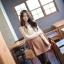 R.J.Story เสื้อแฟชั่นเกาหลีแขนปีกค้างคาวสีครีมแต่งด้วยผ้าโครเชเนื้อผ้าใส่สบายนะค่ะ thumbnail 1