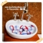 HMB1-5 : กระดุมปั๊มผ้า cotton 100% handmade ขนาด 1 cm- (1 แพคบรรจุ 12เม็ด ) thumbnail 1