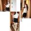 RJ.Story เสื้อแฟชั่นเกาหลีคอปกผ้าโครเชช่วงไหล่ตัดต่อผ้่าลูกไม้ตามภาพ thumbnail 11