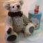 ตุ๊กตาหมีผ้าขนแกะสีน้ำตาลขนาด 20 cm. - Poppy thumbnail 2