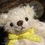 ตุ๊กตาหมีผ้าขนสีครีมขนาด 10 cm. - Muffin thumbnail 5