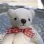 ตุ๊กตาหมีผ้าขนหนูสีครีมขนาด 10 cm. - Muffin thumbnail 2