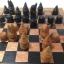 ชุดกระดานหมากรุกไทยไม้ก้ามปูพกพาพร้อมตัวหมากชุดใหญ่ (ขนาด38.5x42 cm) thumbnail 3