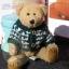 หมีขนสั้นสีน้ำตาล ขนาด 22 ซม. thumbnail 1