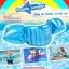 Size L สีฟ้า ห่วงยางแบบใหม่ Puddle Jumper เล่นสนุก รับน้ำหนัก 25 - 40 กก. thumbnail 2