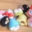 พร้อมส่งค่ะ Sanrio Tsum Tsum plush keychain รุ่นเช็ดจอมือถือได้ thumbnail 4