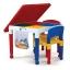 Tot Tutors Kids Building Table FOR Lego, Mega Blocks + 2 Chairs สุดคุ้มเป็นโต๊ะอเนกประสงค์ พร้อมเก้าอี้ 2 ตัว คลิ๊กดูภาพด้านในค่ะ thumbnail 11