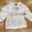 เสื้อจัมเปอร์ผ้าลูกไม้สีขาวตกแต่งผ้าพลีตเลเยอร์ thumbnail 9