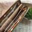 กระเป๋าสตางค์ใบยาวงานควิลท์-ผ้าทอโทนน้ำตาลอ่อน thumbnail 5
