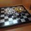 หมากรุกสากลแม่เหล็กตัวหมากสีทองเงินขนาดเล็ก(25x25cm.) thumbnail 5