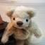 ตุ๊กตาหมีผ้าขนสีครีม ขนาด 14 cm. - Herbie thumbnail 1