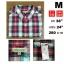 เสื้อเชิ้ต Uniqlo เสื้อเชิ้ตลายสก๊อต Size M thumbnail 1