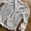 เสื้อคลุมผ้าลูกไม้ตกแต่งระบายสีขาว thumbnail 8