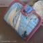 กระเป๋าสตางค์พับงานควิลท์+กระเป๋าปิ๊กแป๊ก seascape thumbnail 1