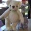 ตุ๊กตาหมีผ้าขนยุ่งสีครีมขนาด 17 cm. - Bobble thumbnail 2