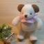 ตุ๊กตาหมีผ้าขนหนูขนาด 18 cm. - Niza Baby Girl thumbnail 1