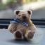 ตุ๊กตาหมีผ้าขนสีน้ำตาลขนาด 6.5 cm. - BeanBear thumbnail 3