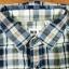 เสื้อเชิ้ตลายสก๊อต เสื้อเชิ้ต Uniqlo Size L (แขน3ส่วน) thumbnail 4