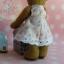 ตุ๊กตาหมีผ้าขนสั้นสีน้ำตาลขนาด 13 cm. - Cracker Girl thumbnail 6